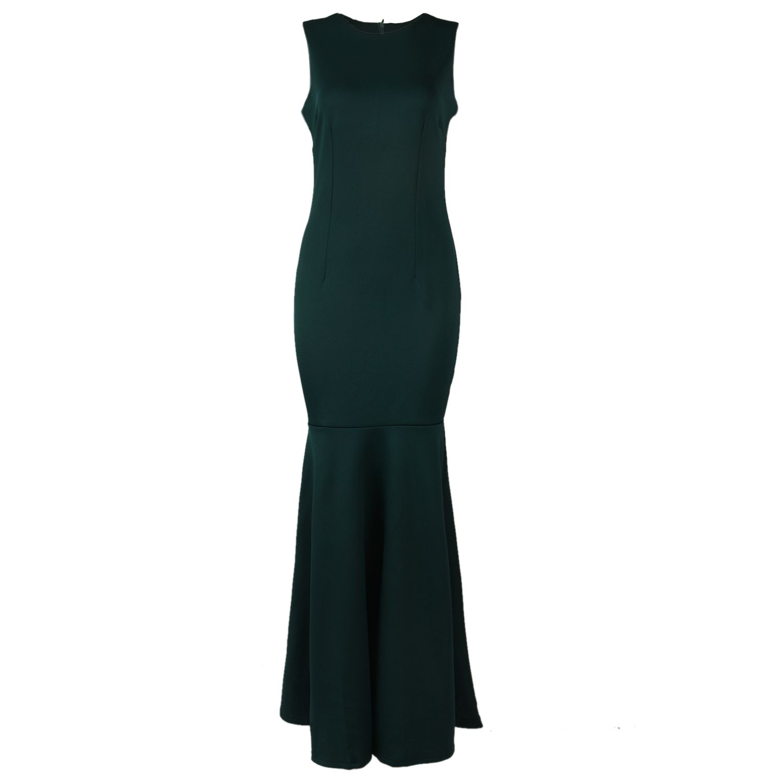 TFGS Original Design Women Summer Elegant Fishtail Dress Sexy Sleeveless Fishtail Strapless Ankle Length Dress Prom