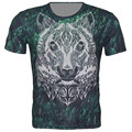 Children New 3D T Shirt Animal Lion Tiger The leopard Brand Design T-Shirt Boy Girl Casual Crewneck Tops Fit 4-15 Years 95-155CM