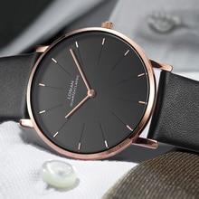 6.5mm Slim Case Men Watches Ultra-thin Luxury Brand Simple B