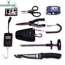 Fishing Tackle Boxes Include 6.5 Inch Stainless Steel Pliers, Fishing Tackle Electronic Scales, Fish Pesca Tool Fishing Rope