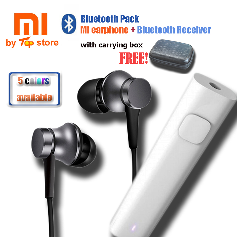 2018 Original Xiaomi Xiomi MI Bluetooth Sport Pack piston 3 Earphone with Bluetooth Converter Receiver for Mobilephone global elementary coursebook with eworkbook pack