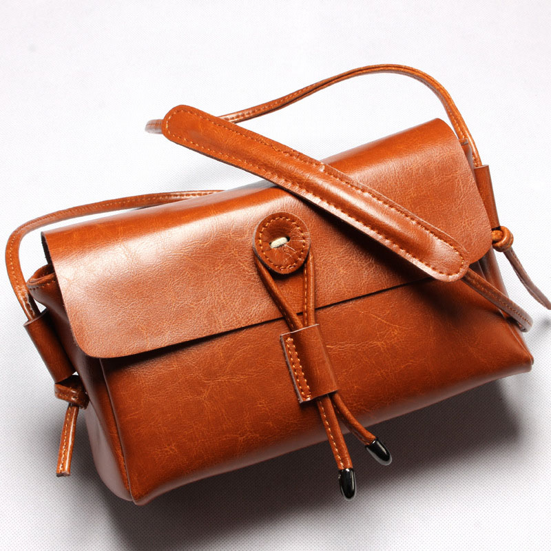 ФОТО  PU Leather Handbag Women Messenger Crossbody Small Bag