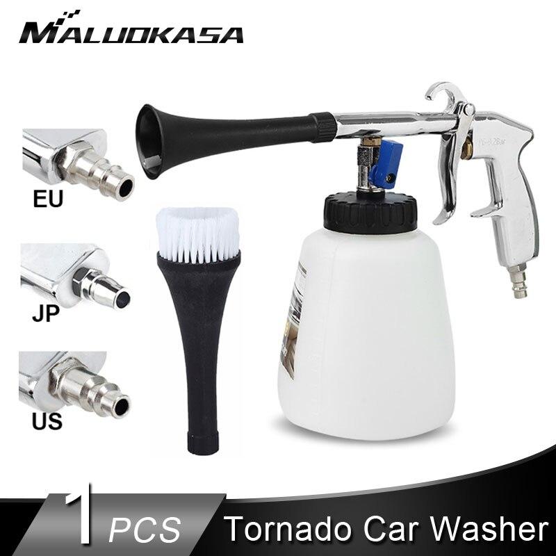 Прямая поставка Торнадо автомойщик автомобилей сухой чистый автомобиль высокого давления чистящий инструмент пистолет для мойки авто Глу...