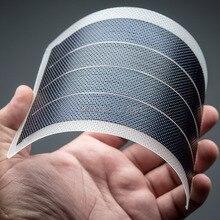 Гибкие солнечные батареи Гибкая тонкая пленка модуль панели солнечных батарей DIY 1 Вт 6 В панель аккумулятор для moble солнечной энергии система домашнего освещения солнечные батареи