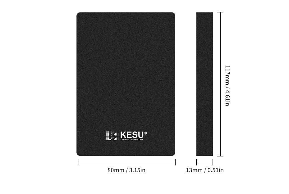 "KESU HDD 2.5"" External Hard Drive 320gb/500gb/750gb/1tb/2tb USB3.0 Storage Compatible for PC, Mac, Desktop, Laptop, MacBook HTB10giMgHsTMeJjSsziq6AdwXXaQ"
