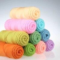 5 Balls Lot 500gram 8 Natural Soft Worsted Thick Cotton Yarn Hand Knitting Wool Yarn Crochet