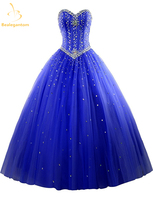 2015 New Sexy Pink Quinceanera Dresses Ball Gowns Beads Dress Lace Up For 15 Years Party