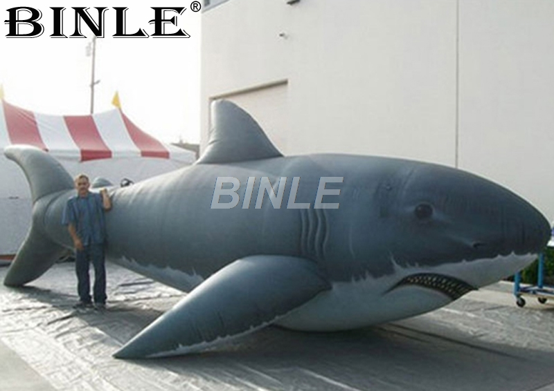 Customizable advertising giant inflatable shark inflatable fish balloon replica for ocean park giant inflatable balloon for decoration and advertisements