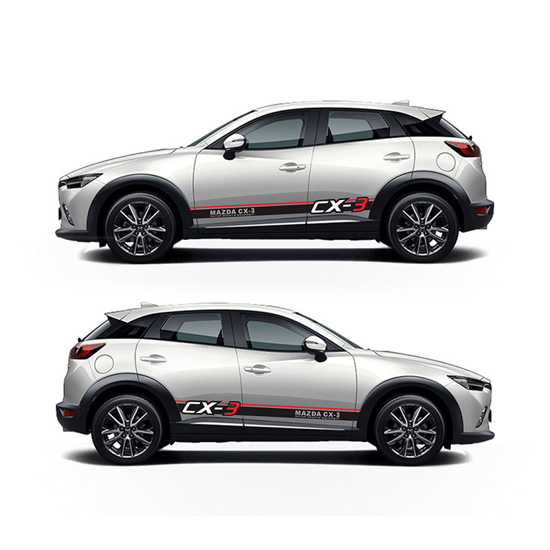 цена TAIYAO car styling sport car sticker For Mazda 2018 CX-3 Mark Levinson car accessories and decals auto sticker