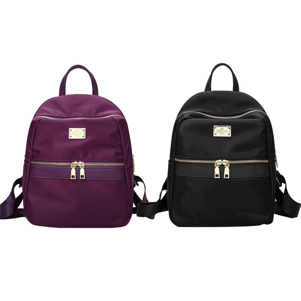 xiniu Fashion Waterproof Nylon Women Backpack New Shoulder Back Bag backpack women mini backpack mochilas mujer 2018
