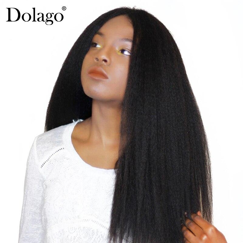 Странный прямые волосы бразильской Девы пучки волос плетение грубой яки 100% натуральные волосы Связки Dolago волос товары расширения