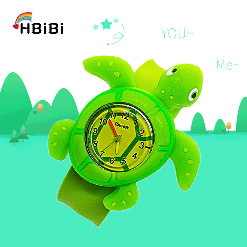Baby Time Toys Cartoon Tortoise Children Watch For Kid Girl Boy Student Clock Kids Watches Fashion Child Electronic Wristwatches