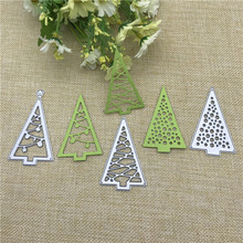 Christmas Trees Metal Cutting for Scrapbooking