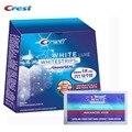 Crest Advanced Vivid Whitestrips Отбеливание Зубов Гигиена Полости Рта Стоматологическая Белый 14 Мешков/28 Полосы для 14 Дней Отбеливающие Полоски