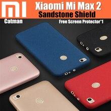 Xiaomi mi макс 2 дело в исходном catman супер удобная песчаника матовый экран матовый обложка 360 градусов защиты для ми макс 2