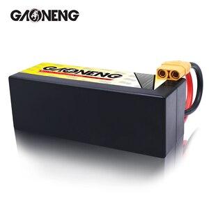 Image 5 - Gaoneng GNB 6500mAh 4S 14.8V 100C/200C Hardcase LiPo סוללה XT90/XT60/דיקני תקע עבור 1:8 1/8 RC רכב ארבעה כונן מחוץ לכביש RC רכב