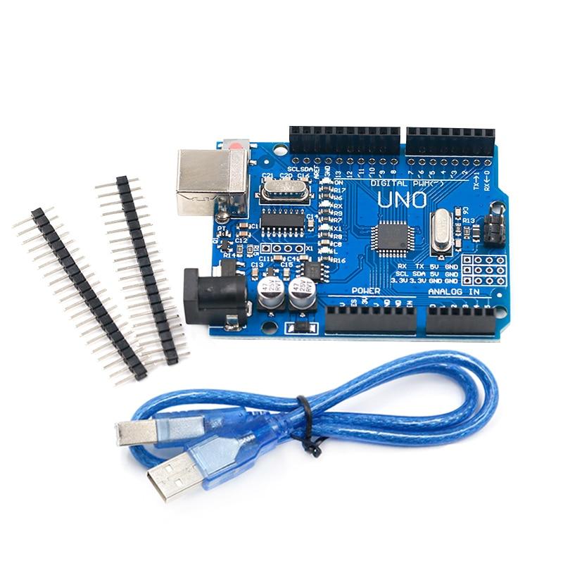 UNO R3 Development Board ATmega328P CH340 CH340G For Arduino UNO R3 With Straight Pin Header