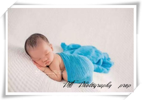 Cotton gauze newborn cheesecloth wrap christmas set photography props baby swaddle blanket backdrop baby stretch knit wrap props in hats caps from mother