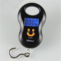 High Quality Electronic Pocket Portable Mini 50kg/5g LCD Digital Fish Hanging High Weight Hook Scales|weight scale digital|hanging luggage scale|weight scale -