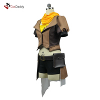 RWBY Cosplay Costume Yang Xiao Long Coat Shorts Clothes CosDaddy
