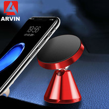 Arvin Car Phone Holder For iPhone XR Sabsung S9 Magnetic in Magnet Mount Cell Mobile Stand
