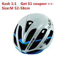 Anyoutdoor High Grade Quality AAA Kask Protone Cycling Helmet Casco Bicicleta Bicycle Bike Helmet Ciclismo Size M 52/58cm