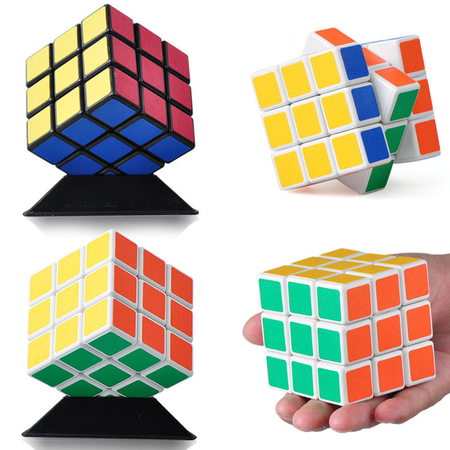 Magic cube three order magic cube 3 magic cube toy professional leugth
