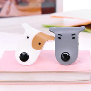 Image 4 - 1pcs Cartoon USB Cable Bites For Cable Protection Cute Iphone Accessory Animal Protector Data line Winder Cord Data Protect