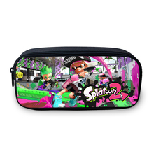 VEEVANV Splatoon 2 New 3D Printing Girls Pencil Case Women Portable Pen Bag font b Children