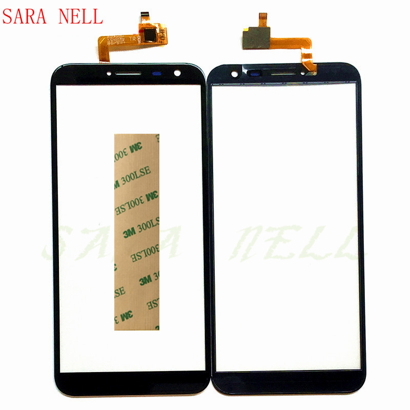 SARA NELL Mobile Phone Touch Panel For Oukitel C8 Touch Screen Glass Sensor Digitizer Front Glass Panel Touchscreen+Tape