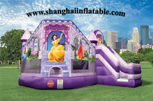 PVC inflatable jumper bounce house with slide inflatable outdoor playground for kids entertainment inflatable parque infantil