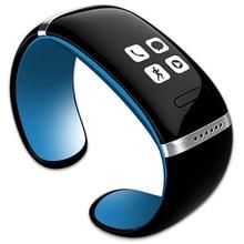 สมาร์ทสายรัดข้อมือL12S OLEDบลูทูธสร้อยข้อมือนาฬิกาข้อมือที่ออกแบบมาสำหรับIOS iPhoneซัมซุงและโทรศัพท์A Ndroid W Earableอิเล็กทรอนิกส์