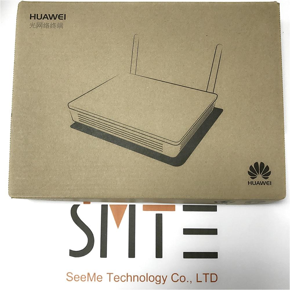 10 pcs/lot anglais firmware HW HG8546M 1GE + 3FE LAN sports support wifi GPON ONU terminal sans fil