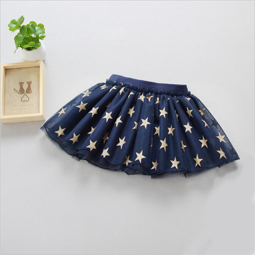 Fanfiluca New Baby Girl Clothes Tutu Skirt Ballerina Pentagram Children Ballet Skirts Party Dance Princess Girl Tulle Miniskirt03