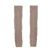 LE PALAIS VINTAGE 2018FW Stylish Thick Leg Warmers Coarse Knitted Vintage Pile Socks Calf Length Warm Stretch One Size Fits All