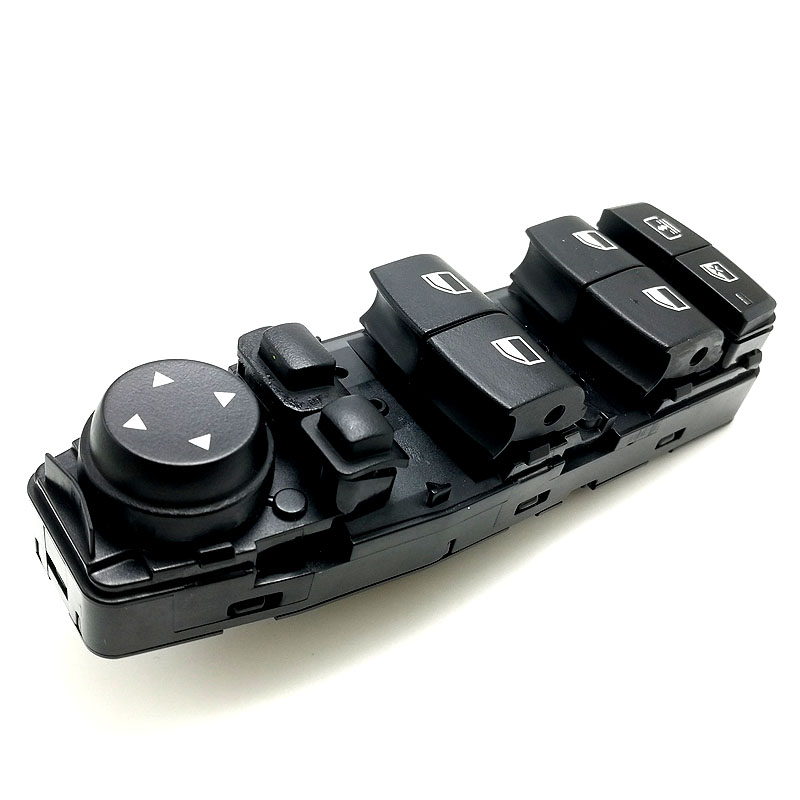 61319241956 NEW Power Window Switch Electric Master Window Switch For BMW 2011-2016 F10 F11 F07 F06 520 523 525 535 528 GT 640 at brake accelerator foot gas plate pedal parts for bmw f07 f10 f11 f18 e53 e60 e61 g30 g31 520 525 528 530 535 2009 2015