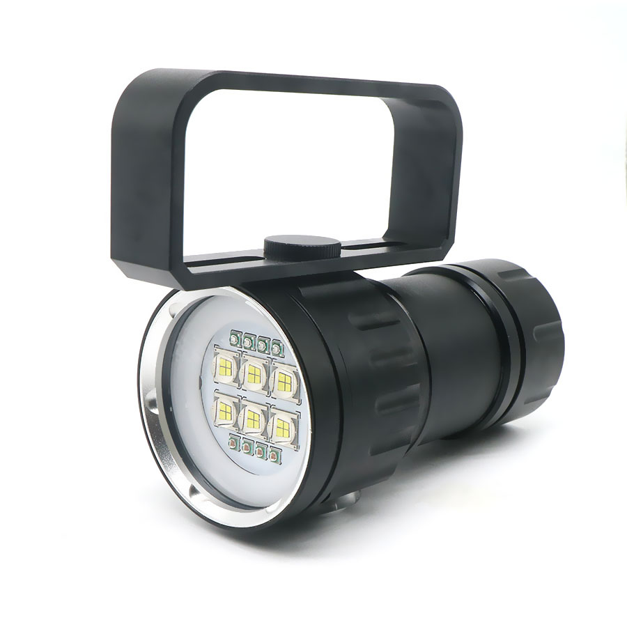 Image 5 - LED Diving Flashlight XHP70 / 90 LED  Photography Video Light Underwater 100m Waterproof Camera Tactical Torch Lamp-in LED Flashlights from Lights & Lighting