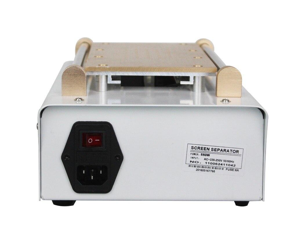 Built in Vacuum Pump LCD Separator Touch Screen Separating Machine ...