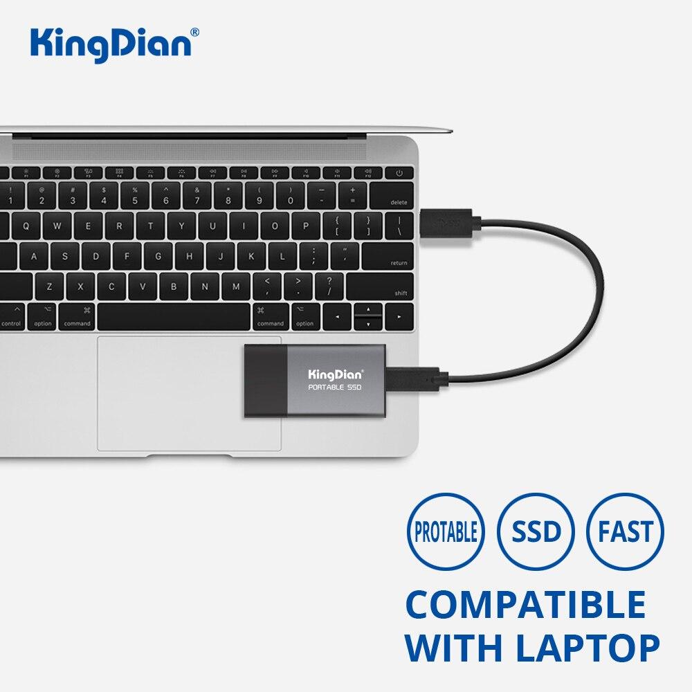 KingDian портативный SSD 1 ТБ 120GB 240GB 500GB SSD жесткий диск внешний SSD USB 3,0 1,8 ''внешний твердотельный накопитель для ноутбука
