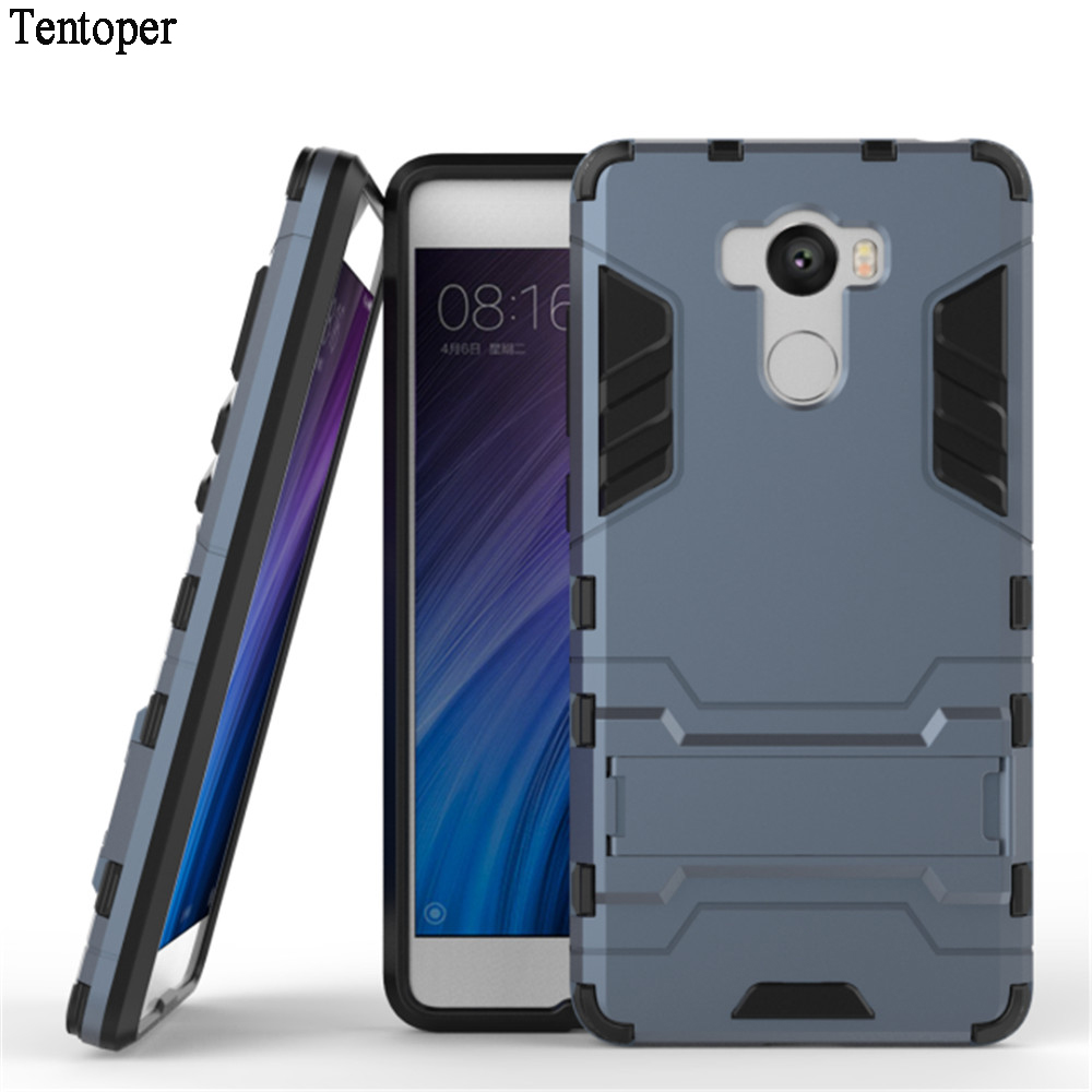 Θήκες τηλεφώνου για Huawei P20 Lite Case Dual Layer Soft TPU & Slim PC Stand Holder Cover For Samsung S9 S8 S7 iphone X XS 8 7 6 Plus