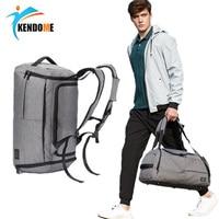 Top Outdoor Men Gym Bag With Shoes Pocket Multi function Women Sport Bag For Training Fitness Shoulder Bag Travel Yoga Handbag