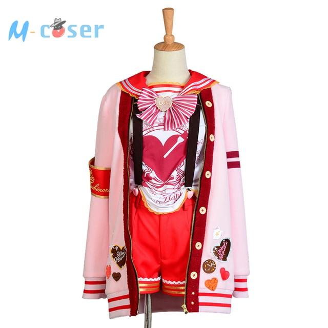 love live valentines day rin hoshizora uniform halloween christmas cosplay costume for women girls
