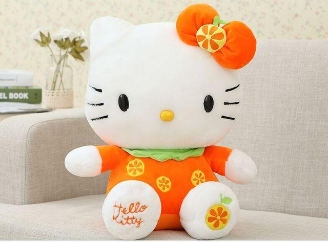 Hello Kitty Plush Toys : Vintage hello kitty plush stuffed doll from by cbs toys etsy
