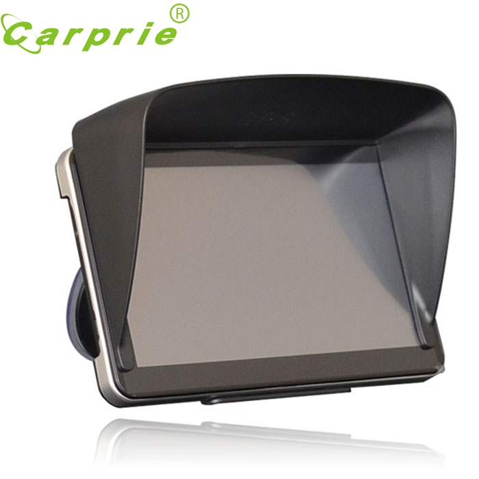 Tiptop New 5 Inch Car GPS Professional Navigator Sun Shade Anti Reflective Black DEC23