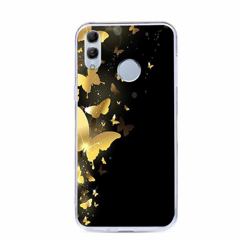 J & R สีสันโทรศัพท์สำหรับ Huawei P สมาร์ท 2019 POT-LX1 POT-LX3 ซิลิโคนน่ารักสัตว์พืชดอกไม้กรณี