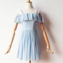 드레스 파티 쉬폰 bridemaid