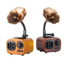 Инновационный Bluetooth динамик сабвуфер Мини Портативный ретро радио динамик для подарка дома Портативное аудио и видео оборудование