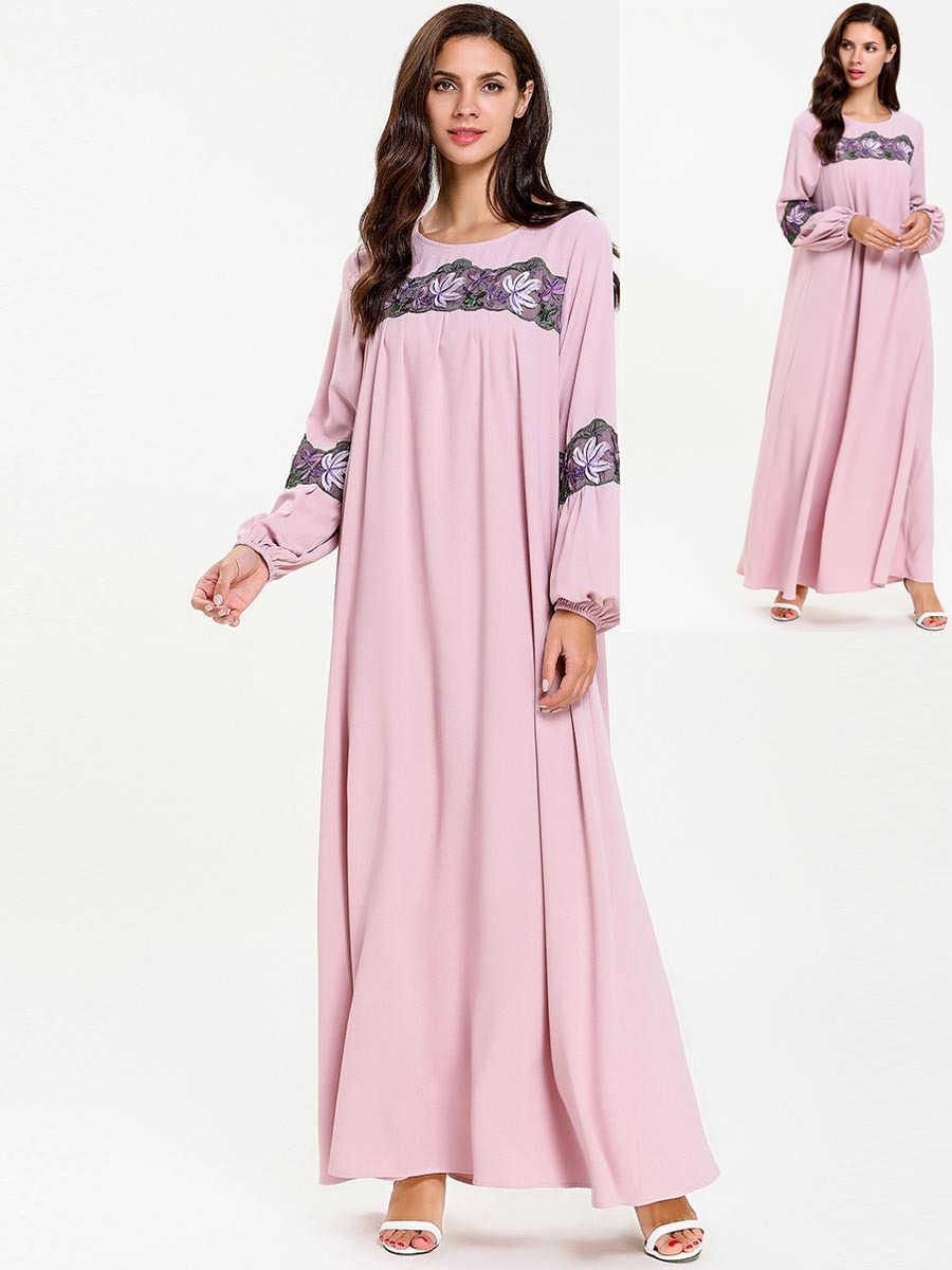 2019 Новый Арабские мусульманские Для женщин разового цвета с длинными рукавами и капюшоном, молимся платье мусульманин турецкий Дубай мода мусульманский купальный костюм чехол