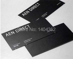 high-grade 300gsm paper cards with Custom logo printing Free Shipping and Free design 1000pcs/lot Paper Business Card NO.1008