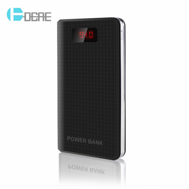 DCAE New Power Bank 10000mAh 3 USB External Backup Battery Portable Charger PowerBank for all phone